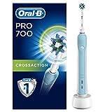 Oral-B PRO 700 CrossAction Brosse à Dents Électrique Rechargeable...