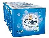 Scottex Papier Toilette - Décoré - Pack de 96 Rouleaux (4 Lots de 24...